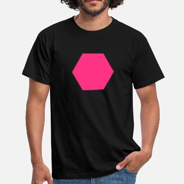Hexagon Hexagon - Men's T-Shirt