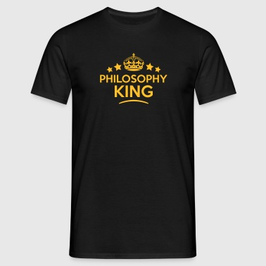 philosophy king keep calm style crown st - Maglietta da uomo
