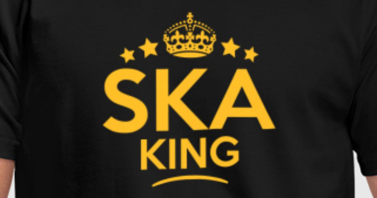 Ska King Keep Calm Style Crown Stars Van Teesontap Spreadshirt