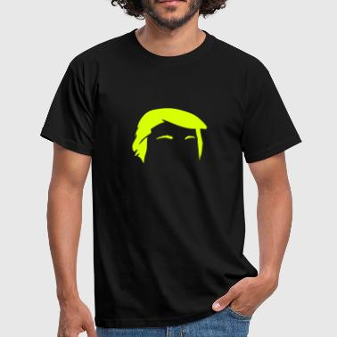 Trump Hair Minimal Vector - Männer T-Shirt