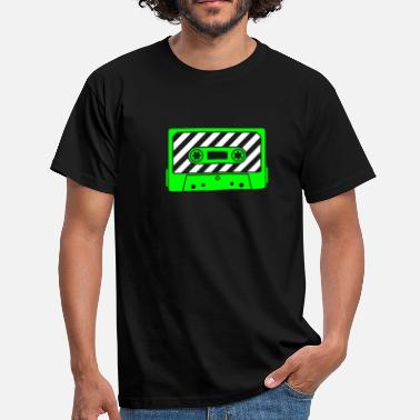 Audio Tape - Music Cassette - Mannen T-shirt