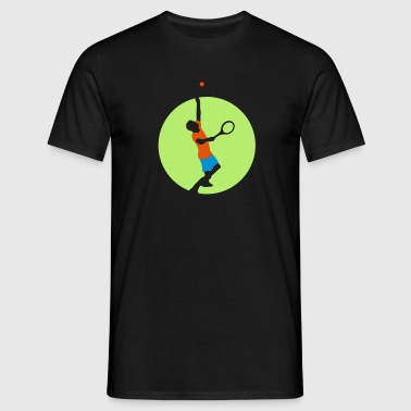 tennis_player_022013_a_3c - Männer T-Shirt