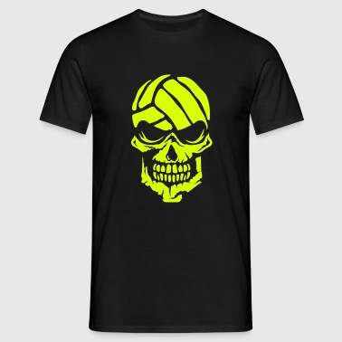 volleyball tete de mort waterpolo 3 logo - T-shirt Homme