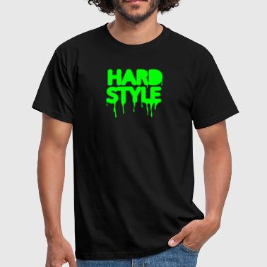 hardstyle techno music - Männer T-Shirt
