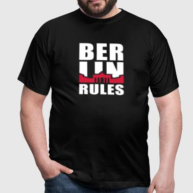 BERLIN RÈGLES Brandenburger Tor 2C - T-shirt Homme