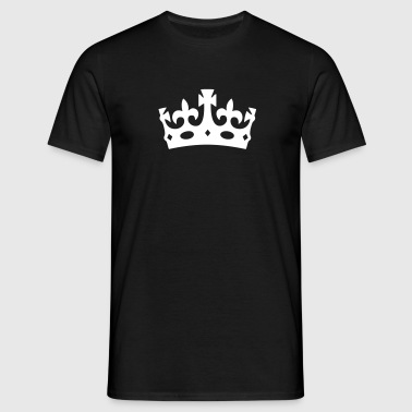 Original Keep Calm Crown - Men's T-Shirt