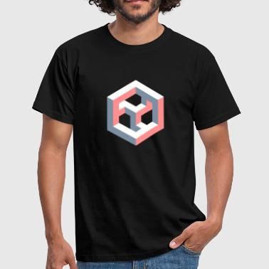 Impossible Figures 31A - Men's T-Shirt