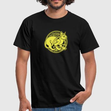 Celtic Cat - Men's T-Shirt