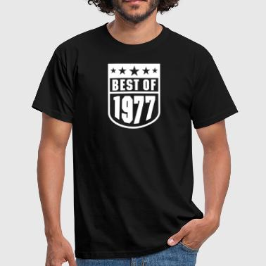 Best of 1977 - Mannen T-shirt