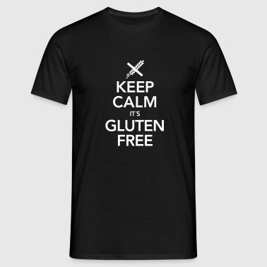 Keep Calm It´s Gluten Free - T-shirt Homme