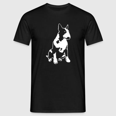 Bull Terrier 2013 1c_4dark - Men's T-Shirt