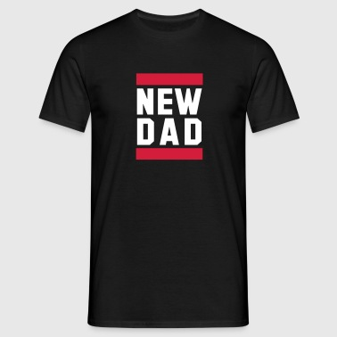 NEW DAD Funny Pregnancy Design - Männer T-Shirt