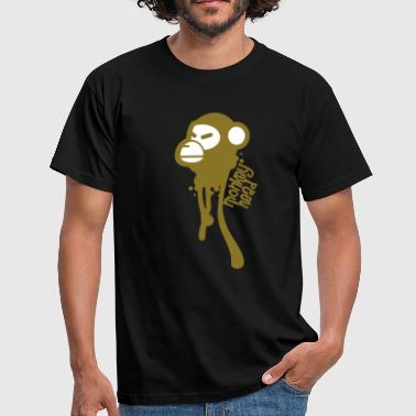 Monkey Head - Men's T-Shirt