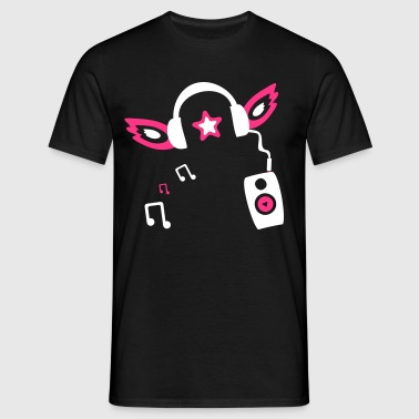 Angel DJ Clubbing Party Ange - T-shirt Homme
