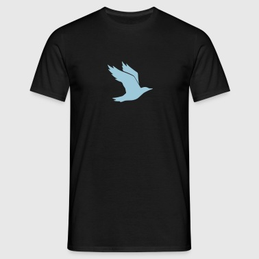 Bird Silhouette - Men's T-Shirt
