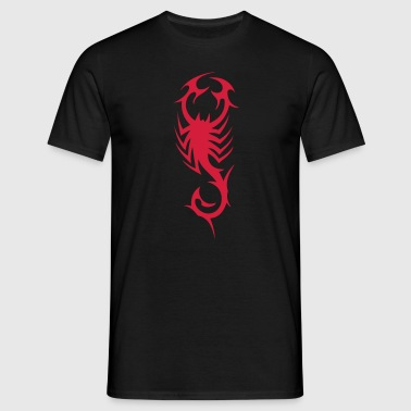 tribal scorpion - Mannen T-shirt
