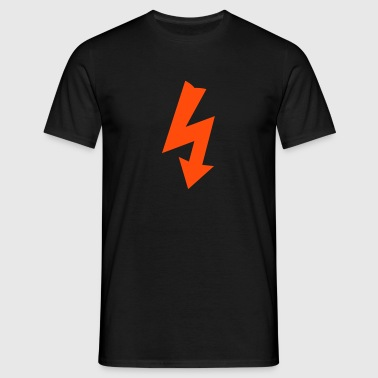 Electricity Symbol - Men's T-Shirt