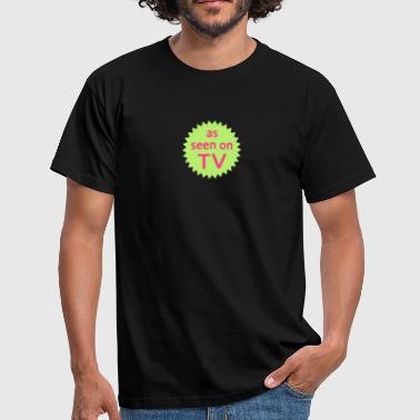 as seen on tv - Camiseta hombre