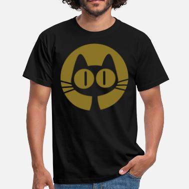 Graphic Art Moon Cat Cartoon by Cheerful Madness!! online shop - Men's T-Shirt