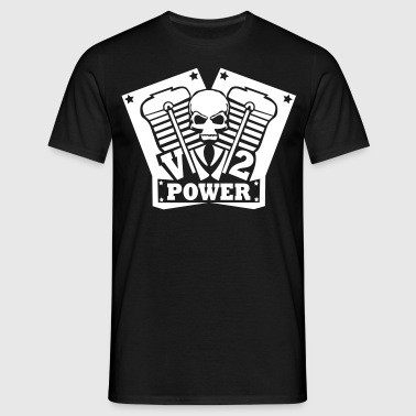 V2 Power - Männer T-Shirt