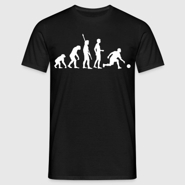 evolution_bowling_player_1c - Men's T-Shirt