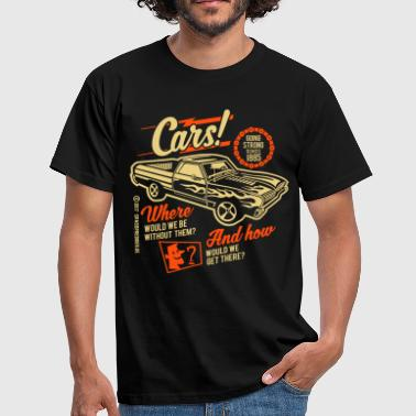 Funny Car Cars - Men's T-Shirt