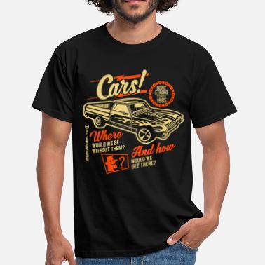 Vintage Car Cars - T-shirt herr