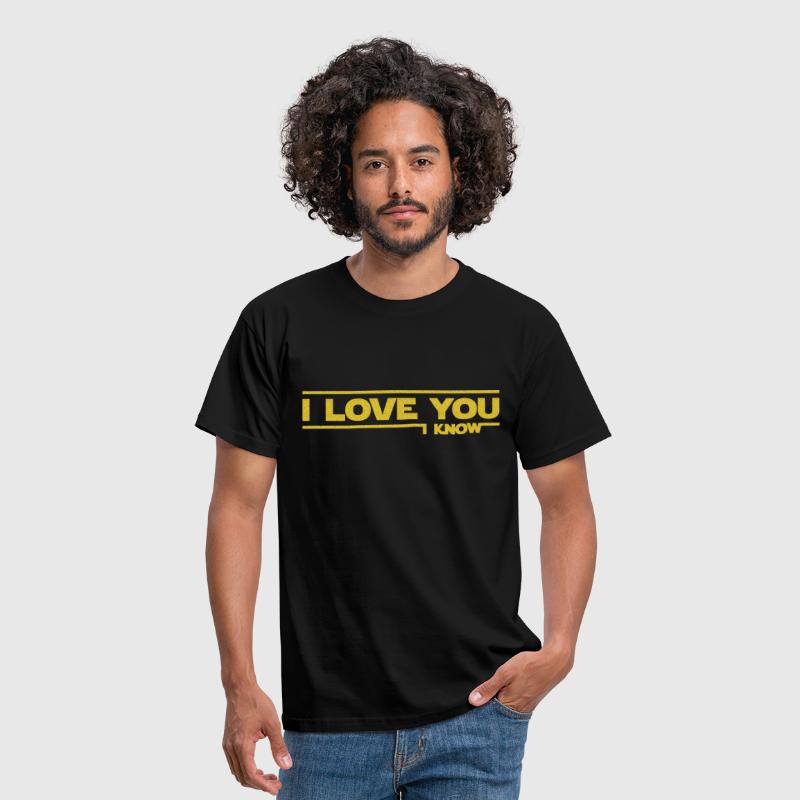 I love you I know (Star Wars) - Miesten t-paita