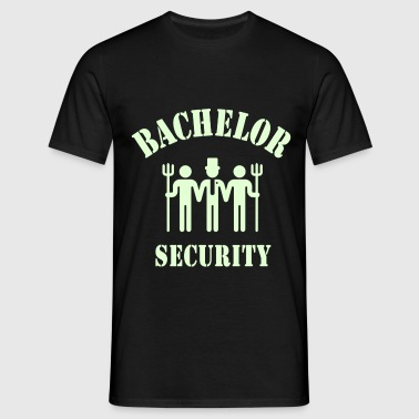 Bachelor Security (Wedding / Marriage) - Men's T-Shirt