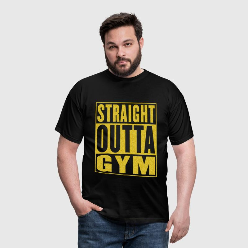 Straight Outta Gym - T-shirt Homme