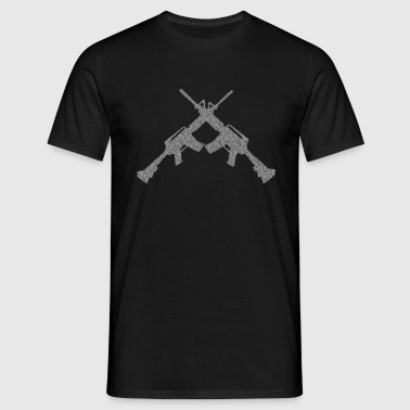 Rifles - Men's T-Shirt