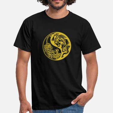 Shaolin tiger-dragon - Männer T-Shirt