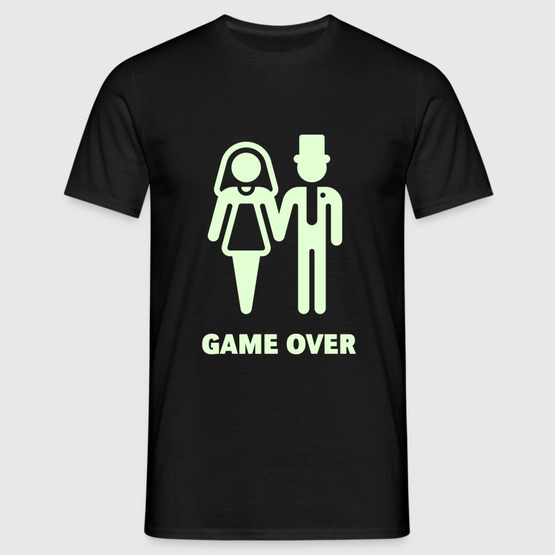 Game Over (Wedding / Marriage) - Men's T-Shirt