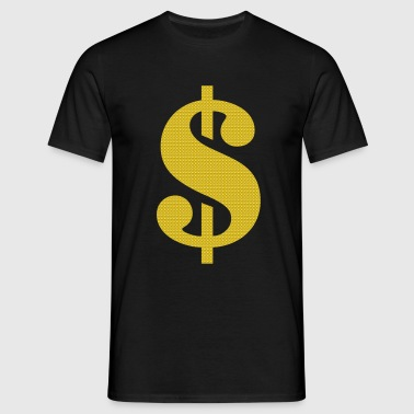 dollar sign - Men's T-Shirt