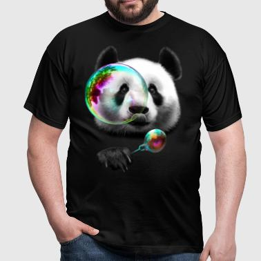 PANDA BUBBLEMAKER - T-skjorte for menn