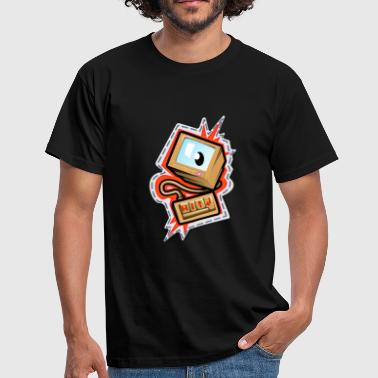 Computerwelt Computer Gamer PC Design - Männer T-Shirt