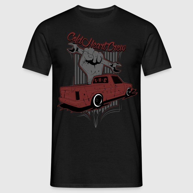 ColdHeartCrew GearHeads Pick Up - Männer T-Shirt