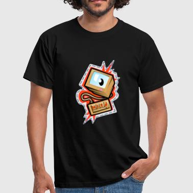 Computerwelt Computer Gamer PC Designs - Männer T-Shirt