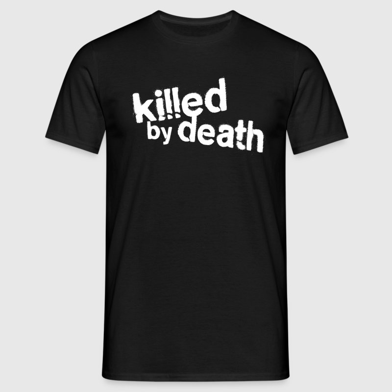 Killed by death - Männer T-Shirt