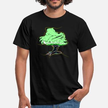 Dirty Money whiteDollar_tree - Men's T-Shirt