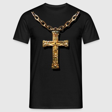 crucifix - Mannen T-shirt
