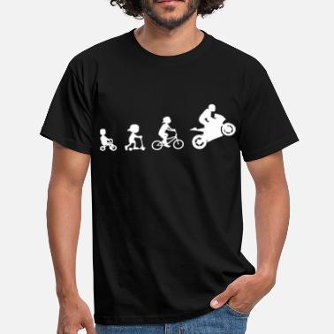 Supersport Evolution Biker Evolution Supersport 2 - Herre-T-shirt