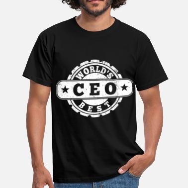 Ceo World's Best CEO - Männer T-Shirt