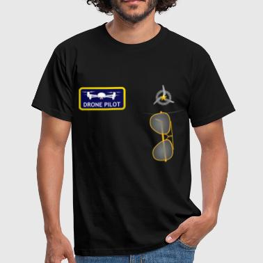 uniform drone pilot - Men's T-Shirt