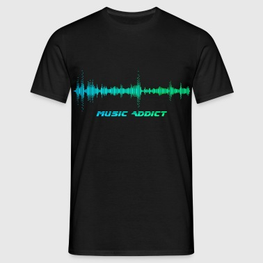 Music Addict - T-shirt Homme