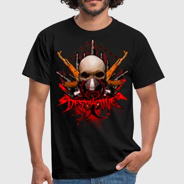 Thrashing Destractive TS - Men's T-Shirt