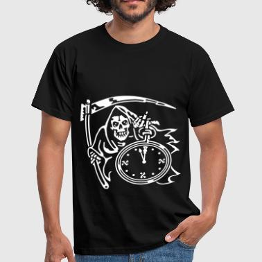 Reaper Wear Reaper Time (for black shirts) - Men's T-Shirt