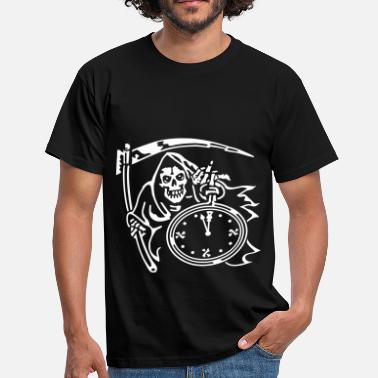 Reaper-wear Reaper Time (for black shirts) - Men's T-Shirt