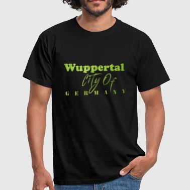 Wuppertal City of Germany2 - Männer T-Shirt