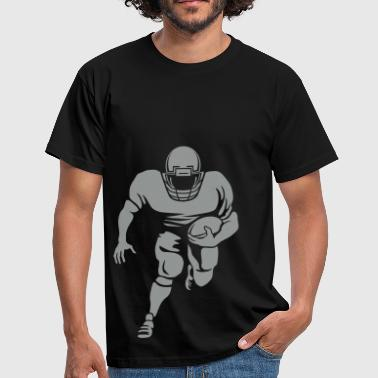 Football masterfitness_footballplayer_1fbg - Männer T-Shirt
